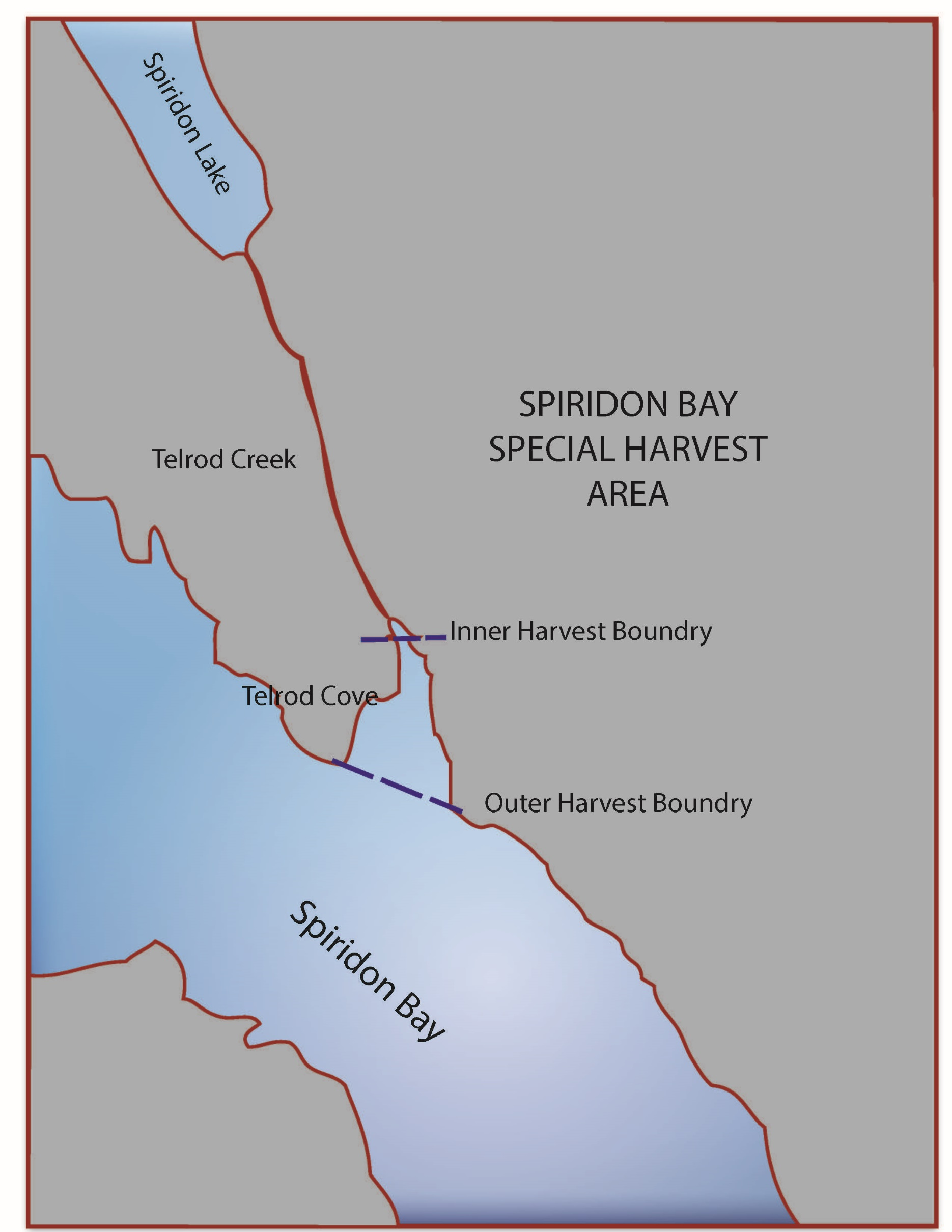 Spiridon Bay Special Harvest Area